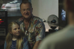 Owen Teale as Murray and Lily Mavrommati as Tamsin in Nocturne