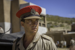 Stephen Campbell Moore as Lieutenant Ed Laithwaite in episode 1 of The Last Post